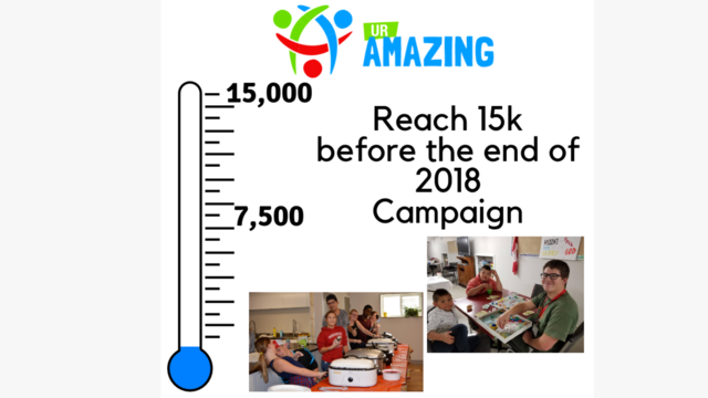 UR Amazing 2018 Push for $15,000 Campaign by UR Amazing