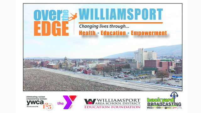 Backyard Broadcasting Williamsport Pa over the edge for river valley regional ymcariver valley