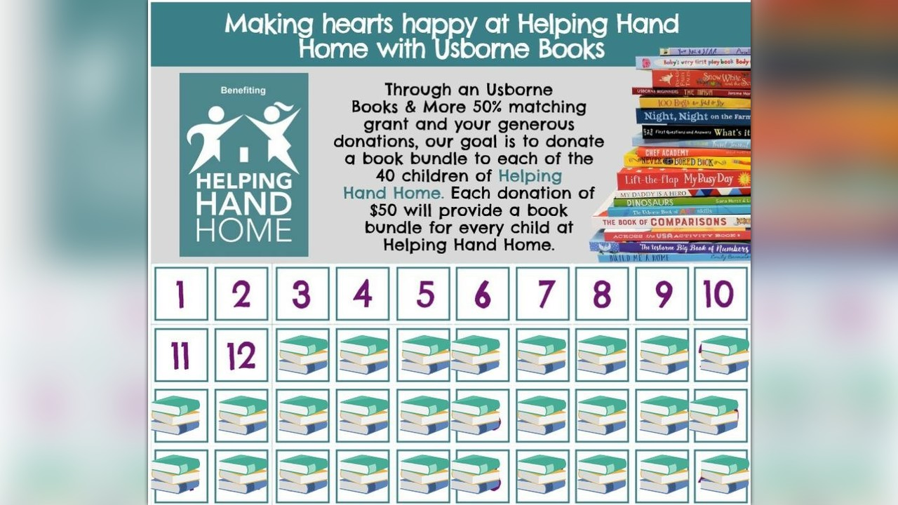 Making Hearts Happy At Helping Hand Home With Usborne Books By Lisa Hoyt
