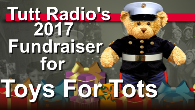Toys For Tots Raffle : Toys for tots fundraiser by tutt radio