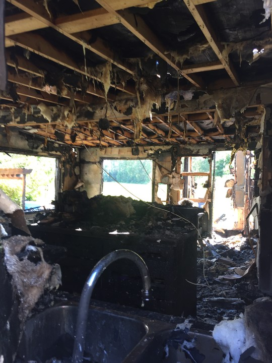 Griffiths Family House Fire Fund by Marijka Neal