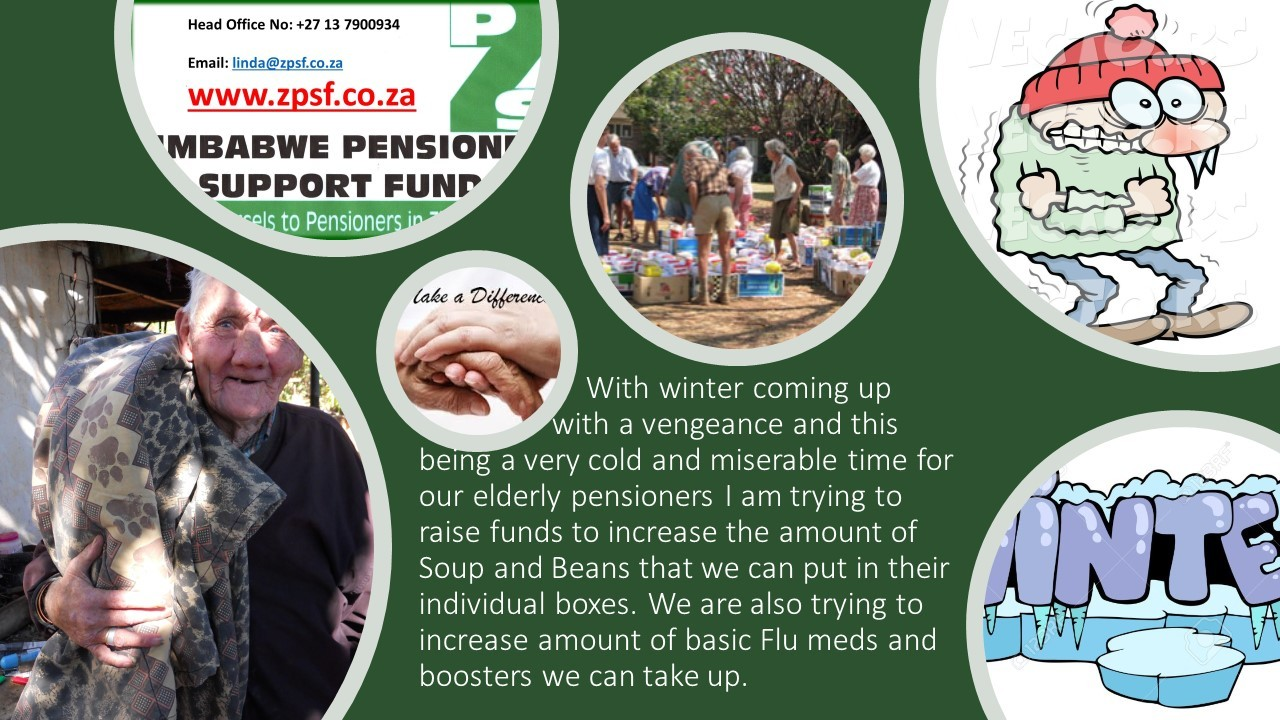 Zimbabwe Pensioner Support Fund by Linda Botha Schultz
