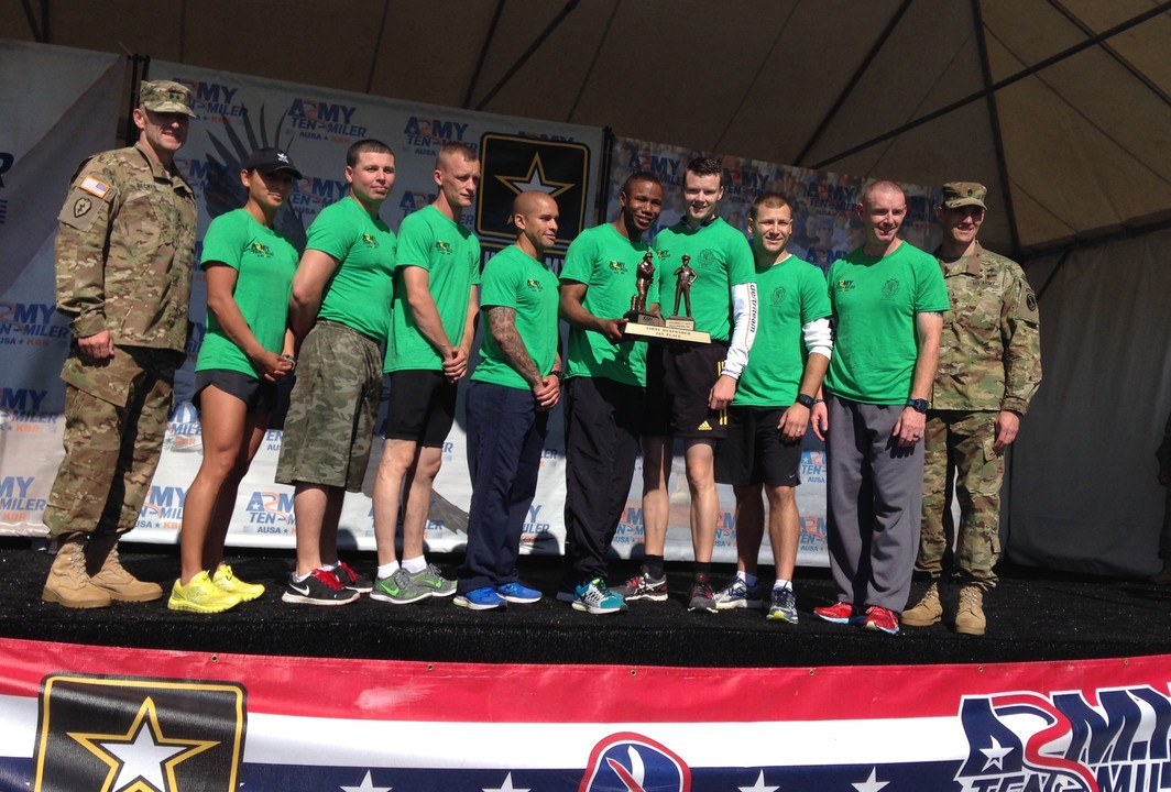 Running for the Regiment by Military Police Regimental