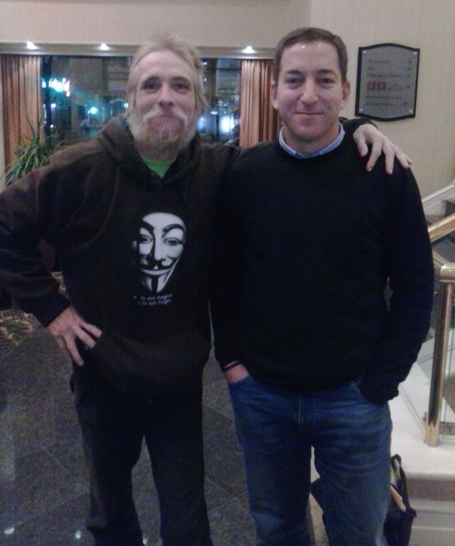 Commander X & Glenn Greenwald