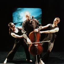 Attack Theatre with cellist