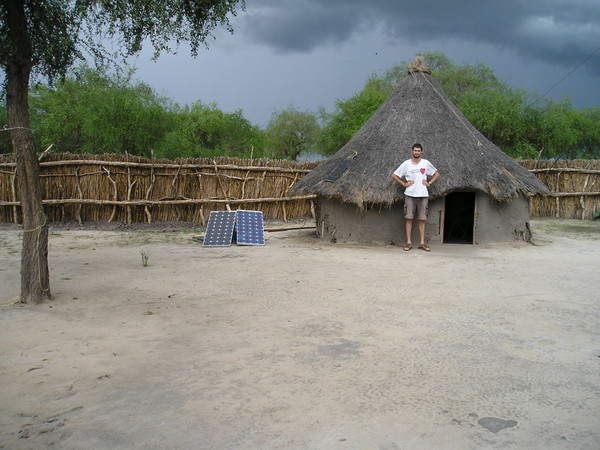 Steve at field office in South Sudan