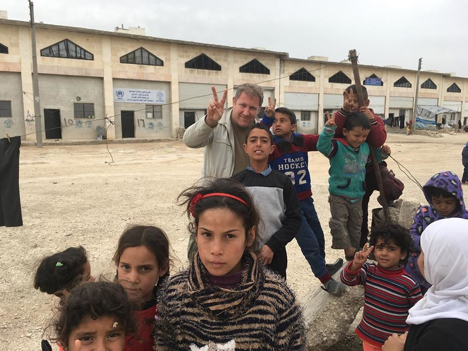 Jebrin refugee camp, April 2017