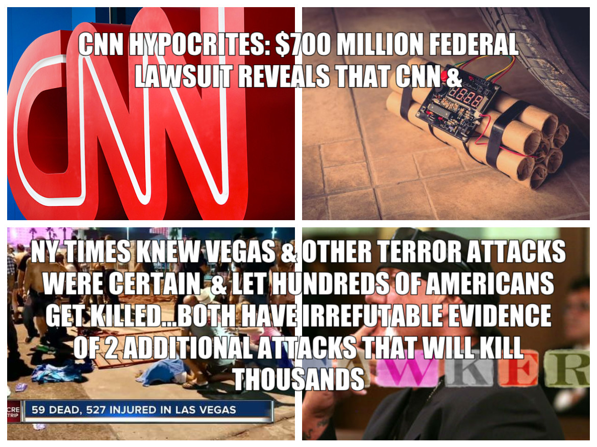 THE STUNNING TERRORIST COVER UP LED BY THE NY TIMES & CNN