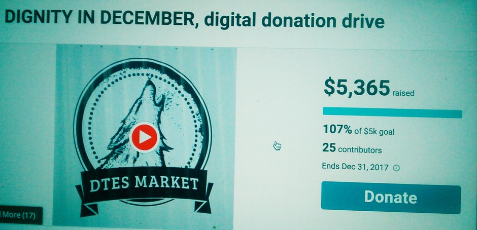 Dignity In December, digital donation drive