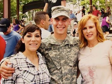 Cristin with his wife and mom