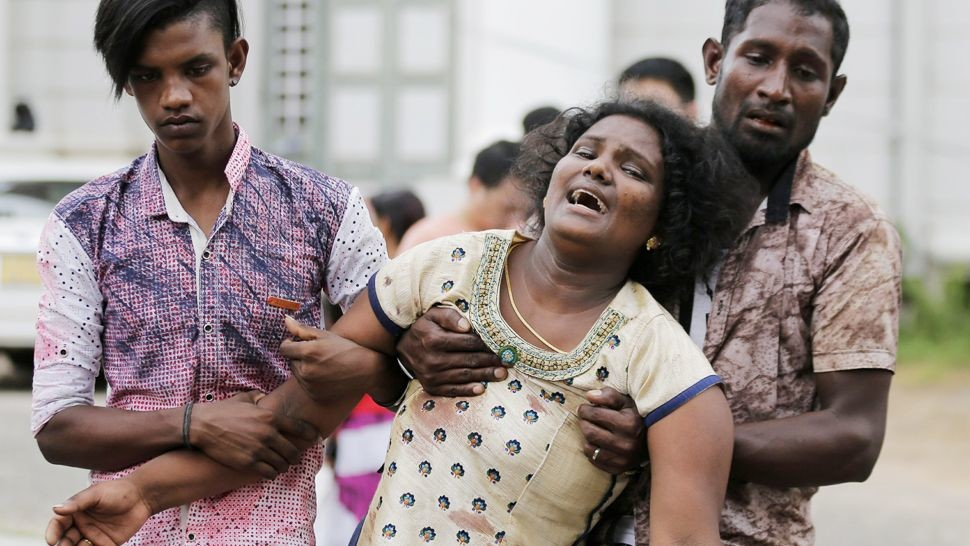 Victims of Sri Lankan Bombing