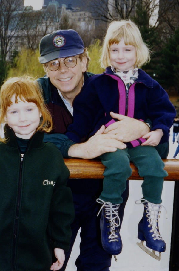 An expert ice skater since childhood, Doug enjoyed teaching his daughters to skate.