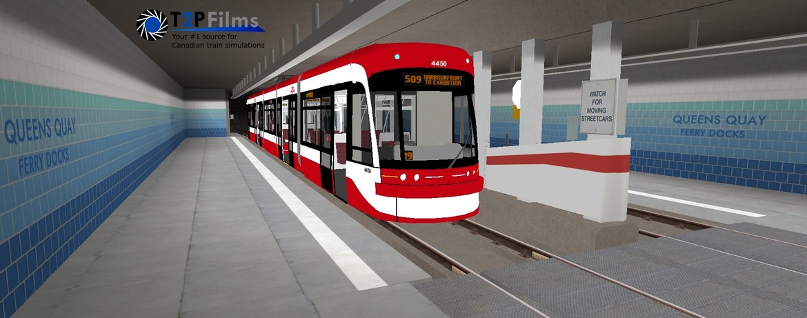 Support Development of the 509 Toronto Streetcar Route for Metro