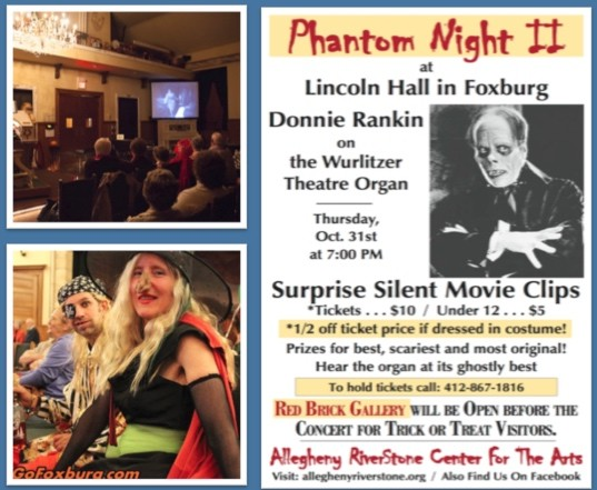 Halloween silent movie night in Lincoln Hall